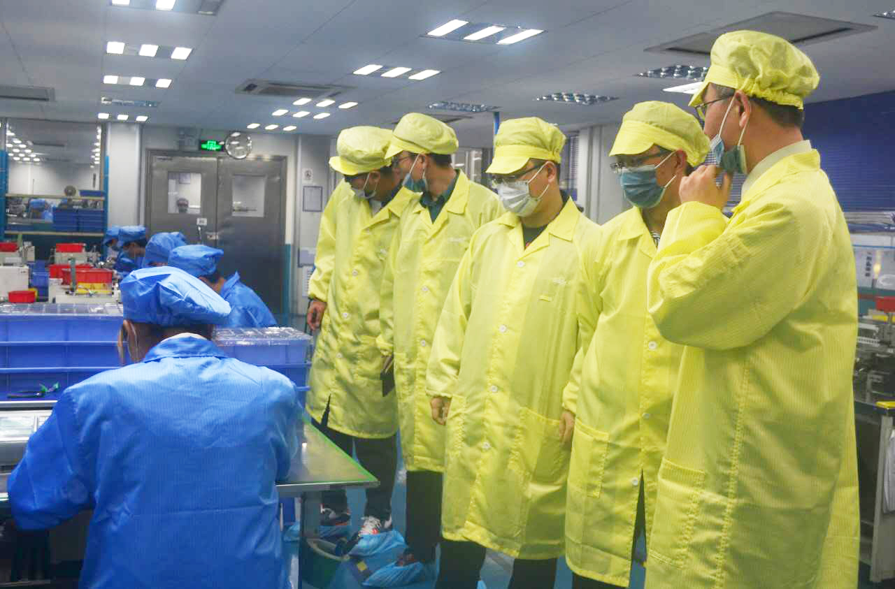 广东省质检院与国光电子展开穿戴锂电池标准研讨